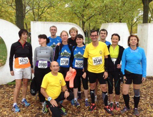 Semi-marathon pour les Vita joggers