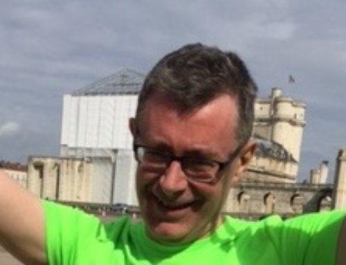 Un représentant VITA GV au Marathon de Paris